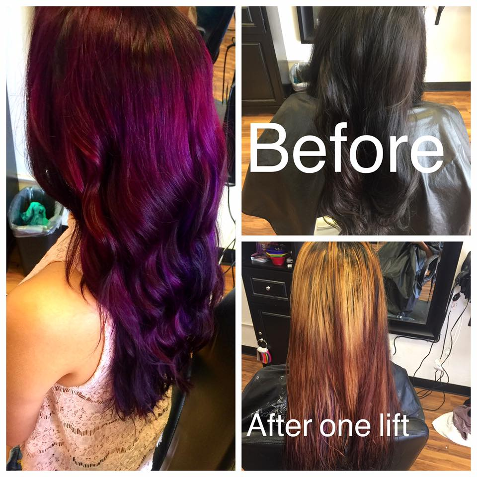 Wild Rootz Beauty Salon - Color Correction Before & After in Grand Junction, CO
